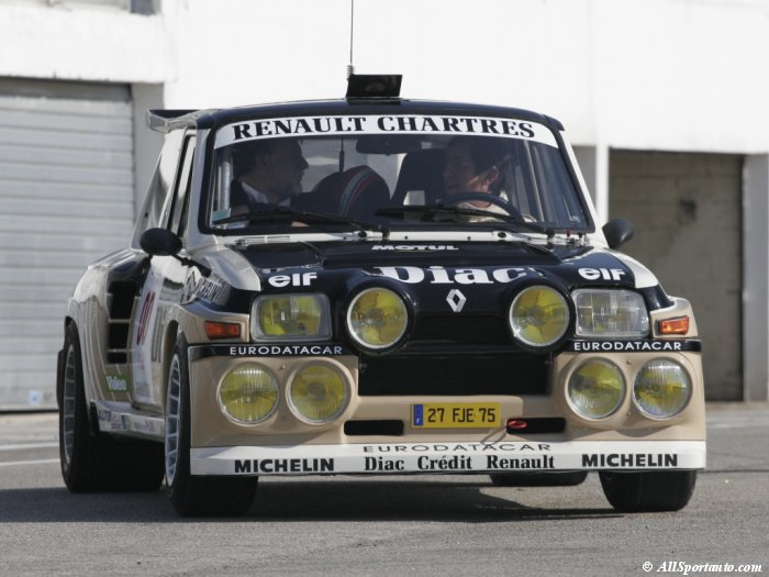 Renault 5 Turbo: 7 фото