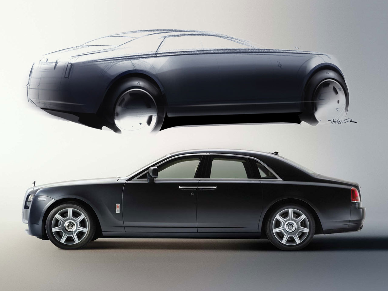 Rolls-Royce Ghost: 9 фото