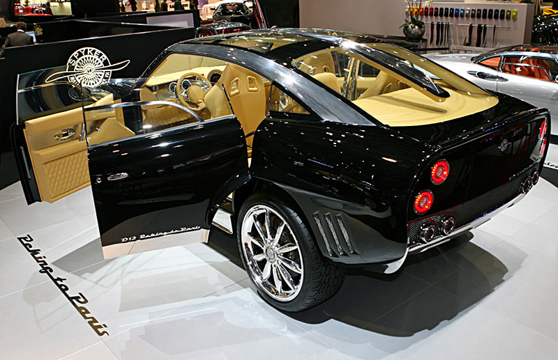 Spyker D12 Peking-to-Paris - 800 x 517, 10 из 18