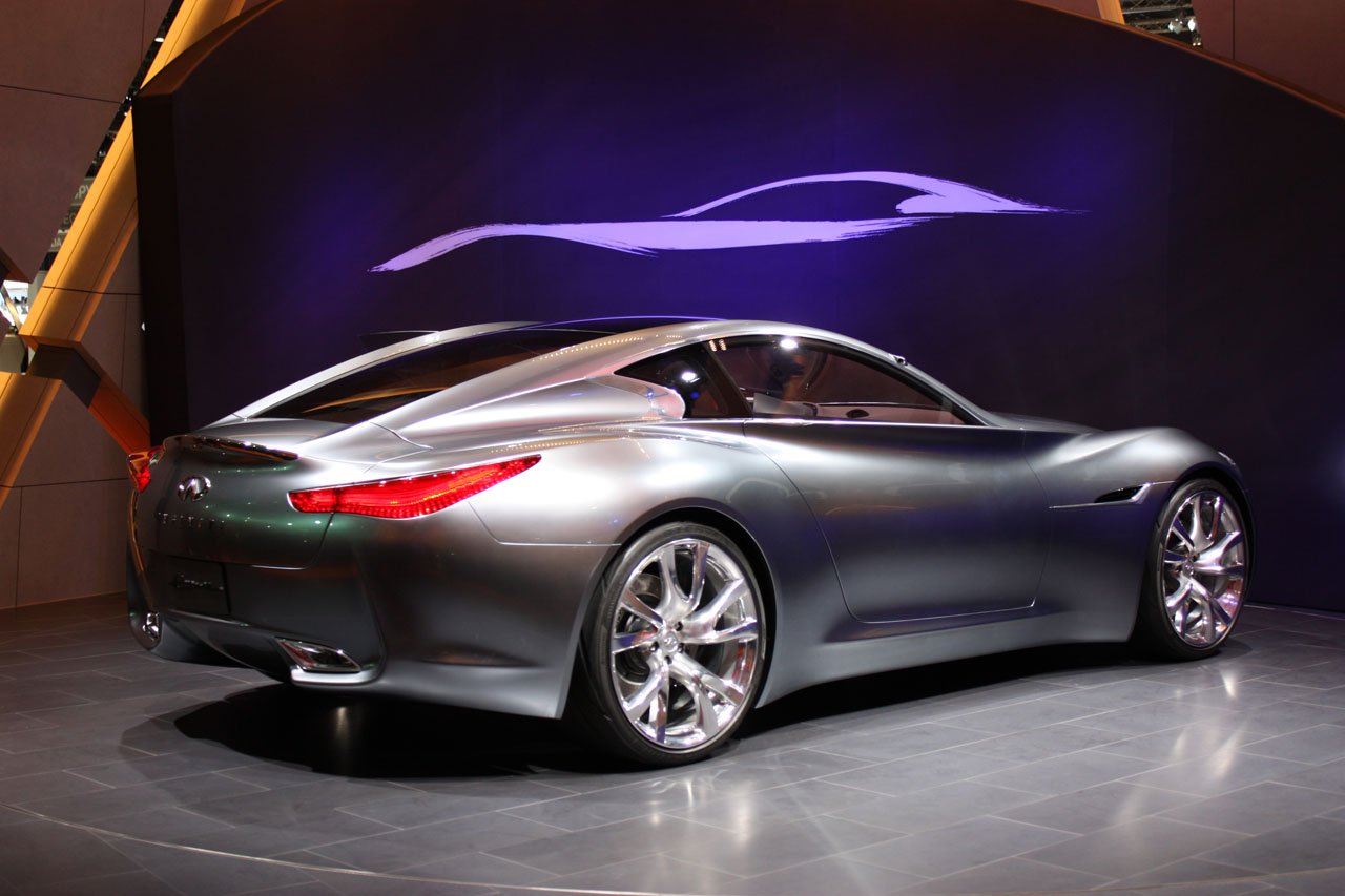 infiniti car Infiniti released the q insporation concept, which came with the announcement that they will become an all-electric brand by 2021, with every model available with some level of electrification.