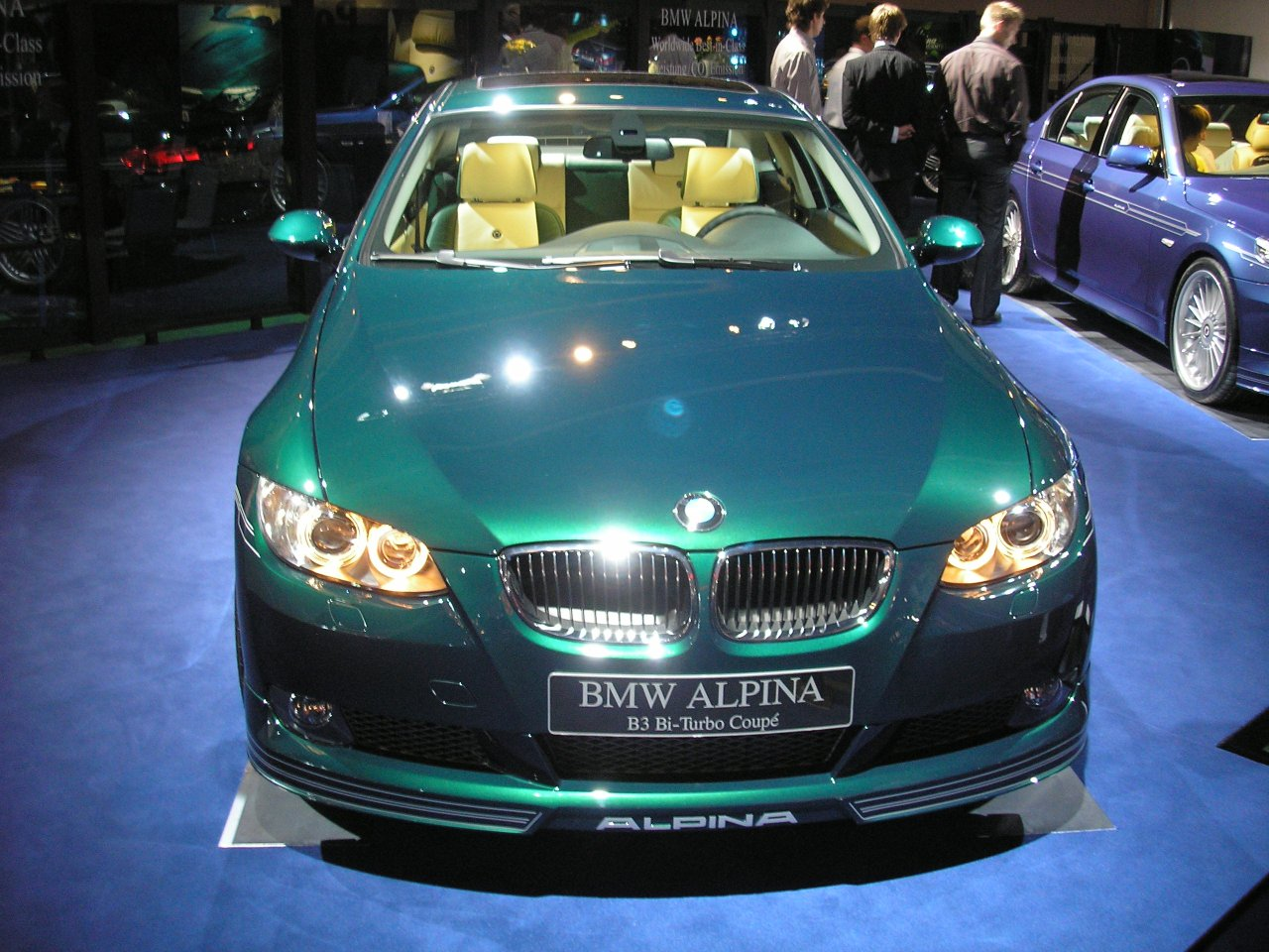 Alpina B3 Coupe: 7 фото