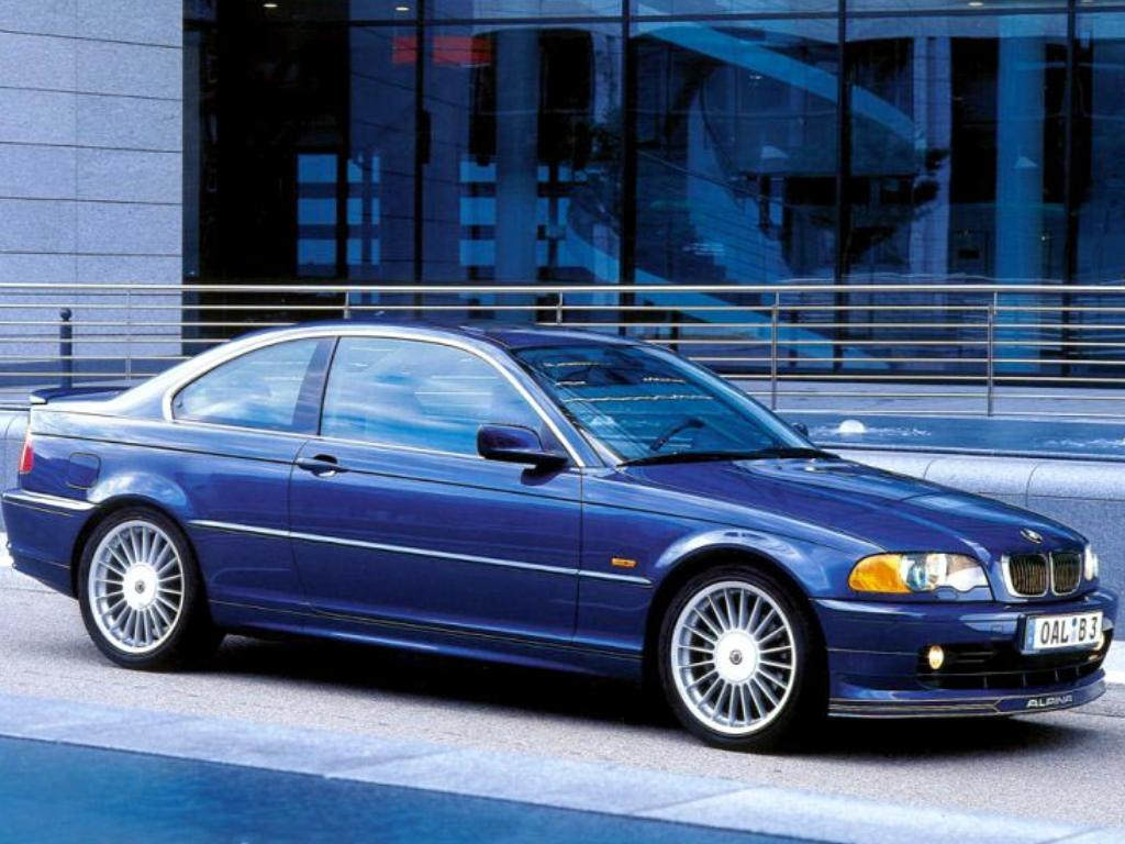 Alpina B3 Coupe: 8 фото