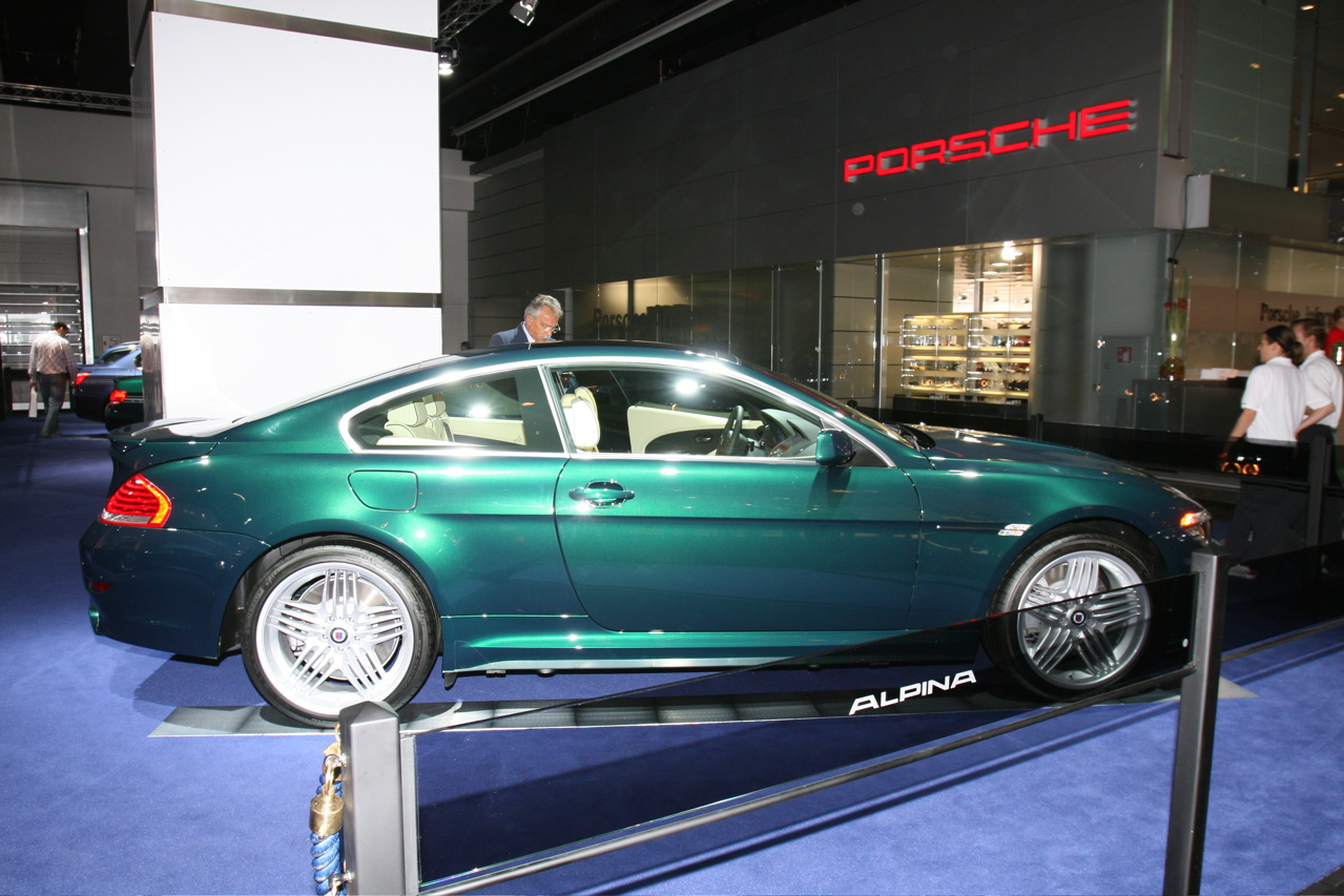 Alpina B3 Coupe: 12 фото