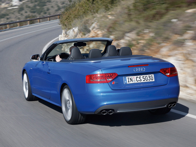 Audi S5 Cabriolet: 03 фото