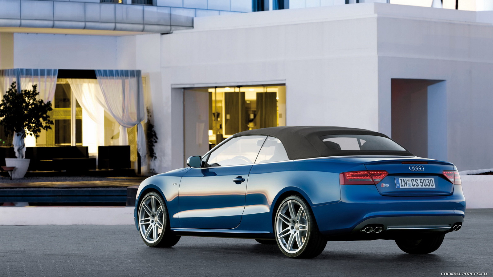 Audi S5 Cabriolet: 08 фото