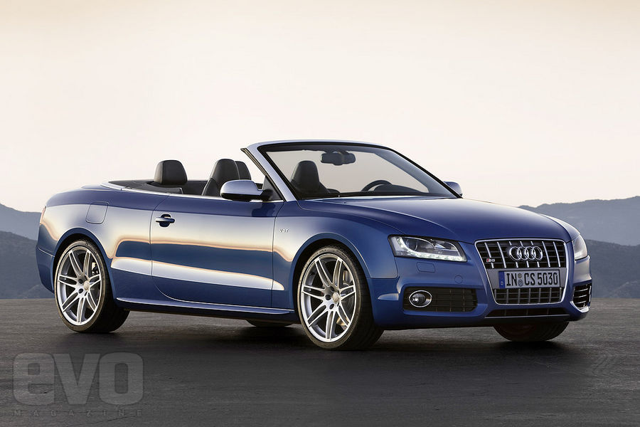 Audi S5 Cabriolet: 09 фото