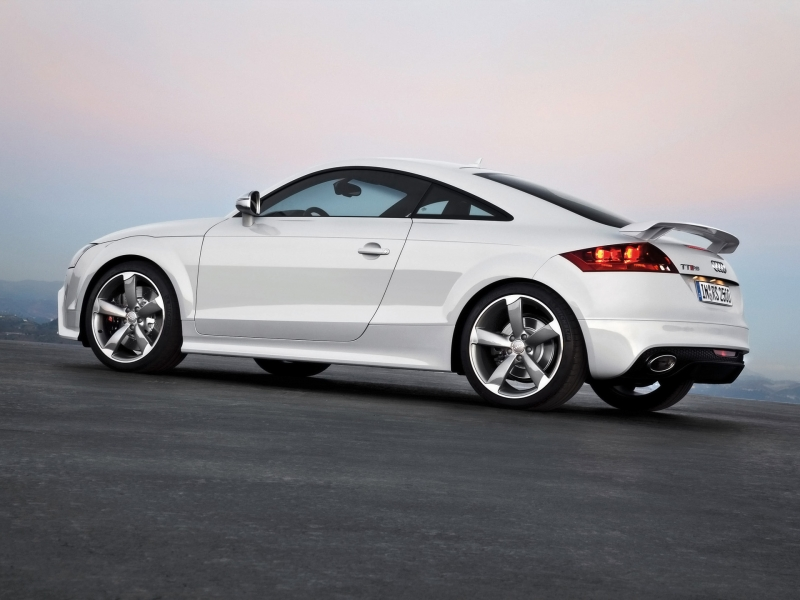 Audi TT RS Coupe: 02 фото