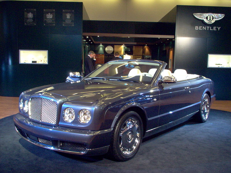 Bentley Azure: 01 фото