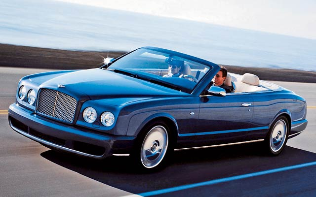Bentley Azure: 09 фото
