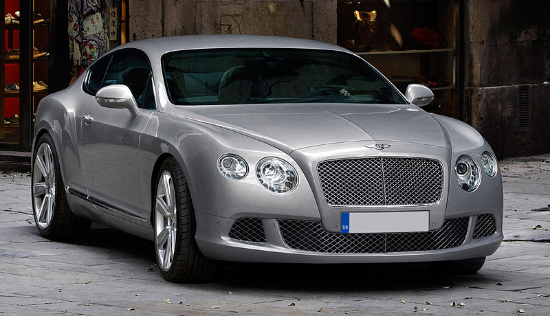 Bentley Continental GT: 09 фото