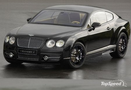 Bentley Continental GT: 10 фото