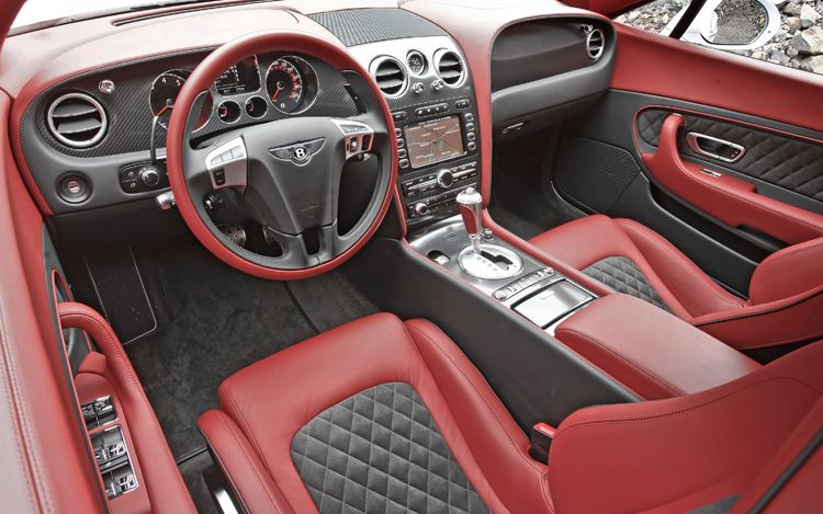 Bentley Continental Supersports: 9 фото
