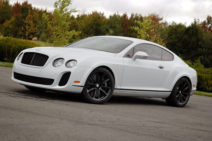 Bentley Continental Supersports: 10 фото