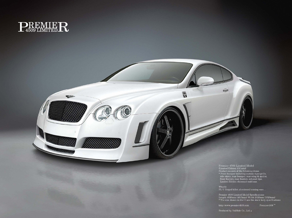 Bentley Continental: 3 фото