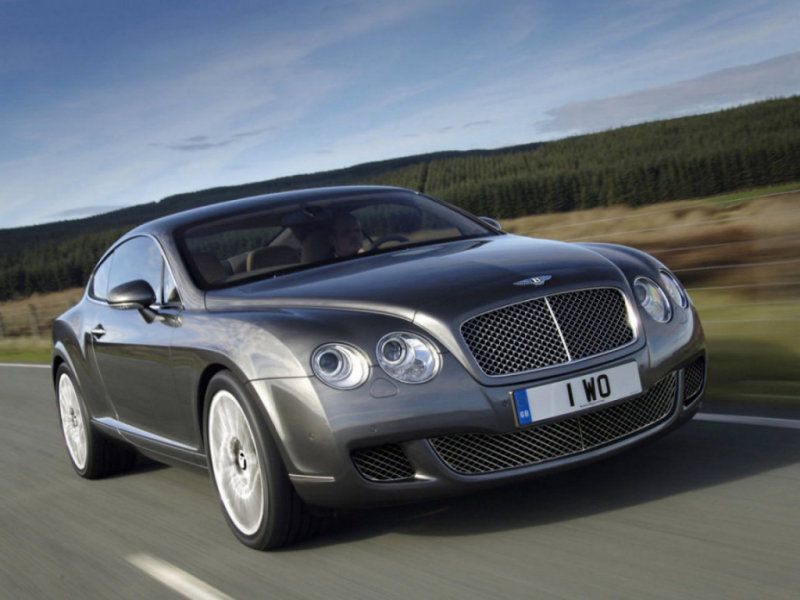 Bentley Continental: 6 фото