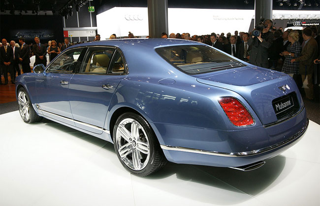 Bentley Mulsanne I: 12 фото