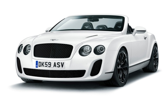Bentley Supersports Convertible: 01 фото