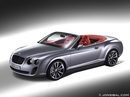 Bentley Supersports Convertible: 02 фото