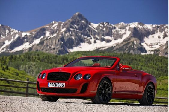 Bentley Supersports Convertible: 03 фото