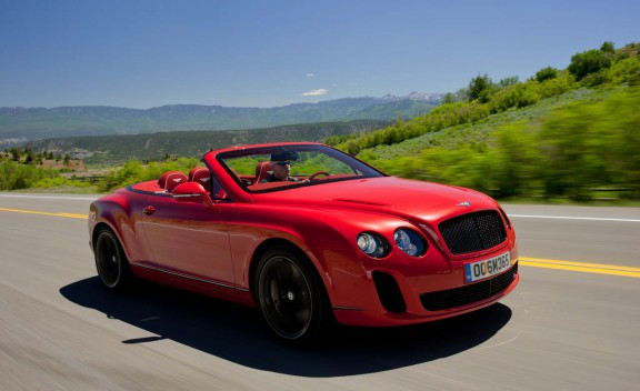 Bentley Supersports Convertible: 04 фото