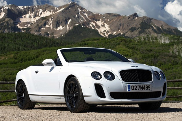Bentley Supersports Convertible: 06 фото