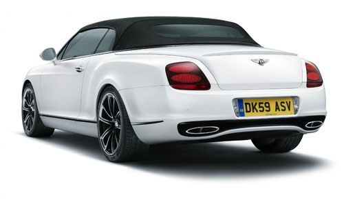 Bentley Supersports Convertible: 08 фото