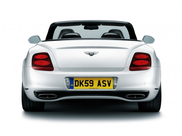 Bentley Supersports Convertible: 09 фото