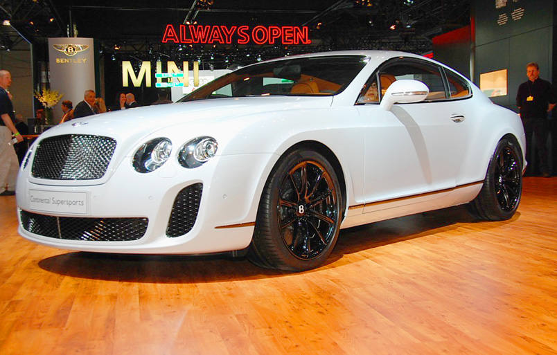Bentley Supersports: 08 фото