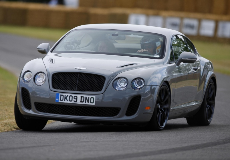 Bentley Supersports: 11 фото