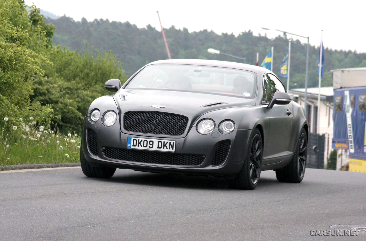 Bentley Supersports: 12 фото