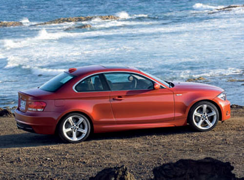 BMW 1-series Coupe: 08 фото