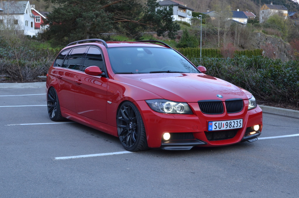 Bmw 3 Series Touring E91 06 фото