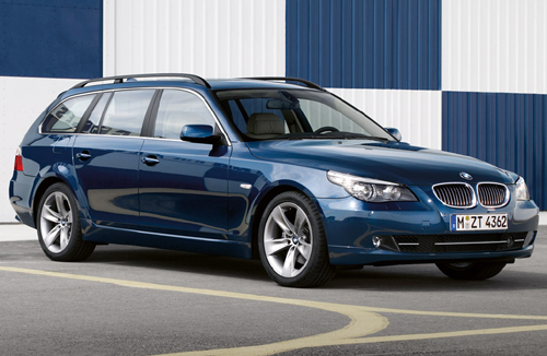 BMW 5-series Touring: 04 фото