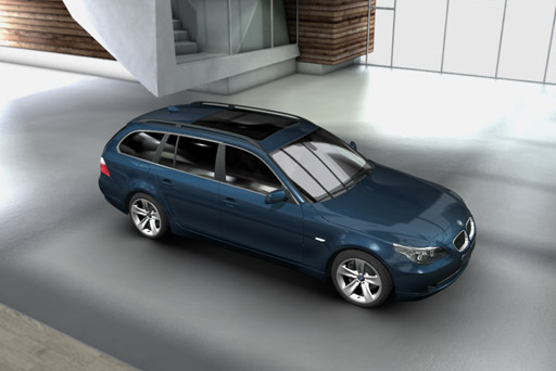 BMW 5-series Touring: 08 фото