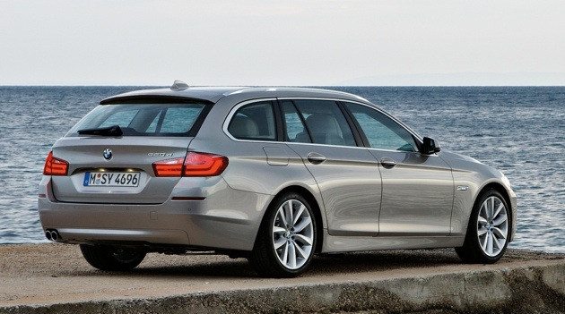 BMW 5-series Touring: 10 фото