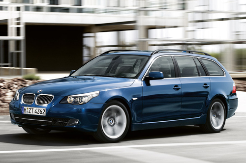 BMW 5-series Touring: 11 фото