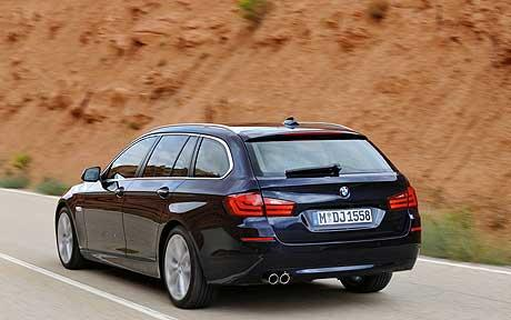 BMW 5-series Touring: 12 фото