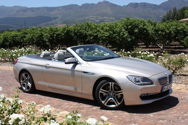 BMW 6-series Convertible: 03 фото