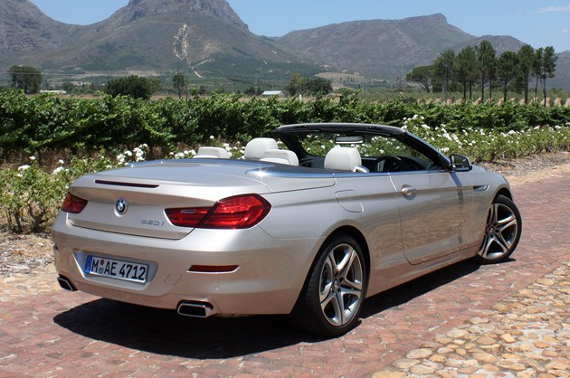 BMW 6-series Convertible: 12 фото
