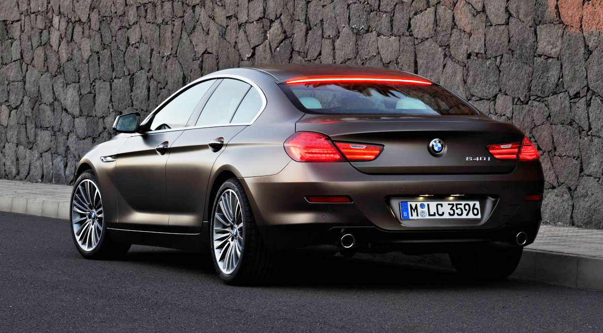 BMW 6-series Gran Coupe: 02 фото