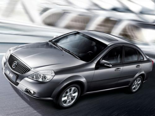 Buick Excelle: 07 фото