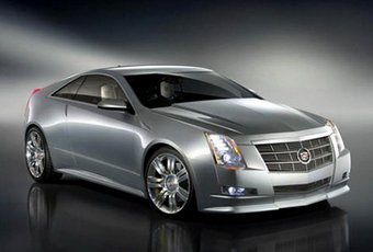 Cadillac CTS Coupe: 05 фото