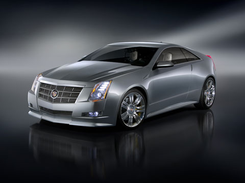 Cadillac CTS Coupe: 07 фото
