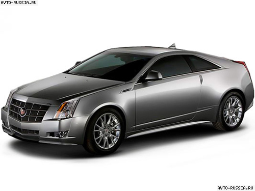 Cadillac CTS Coupe: 10 фото