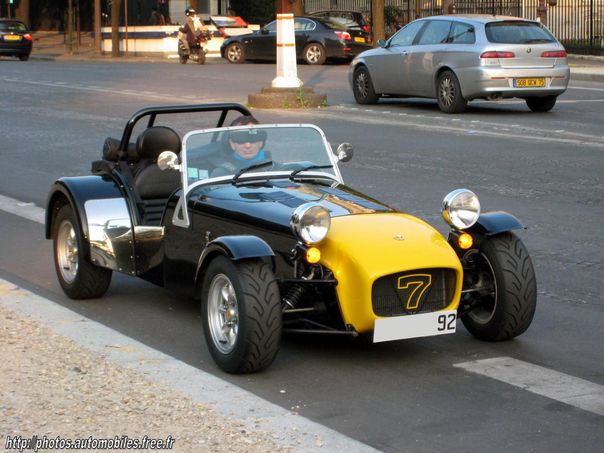 Caterham Super Seven: 03 фото