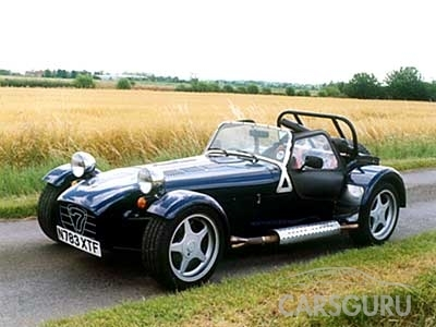 Caterham Super Seven: 5 фото