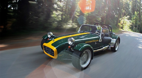 Caterham Super Seven: 07 фото