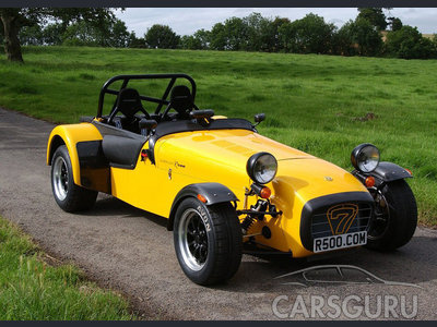 Caterham Super Seven: 08 фото