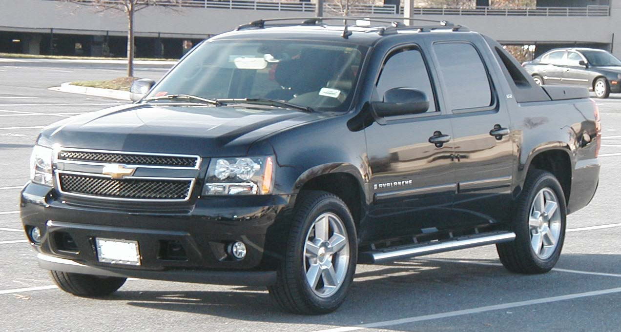 Chevrolet Avalanche: 02 фото