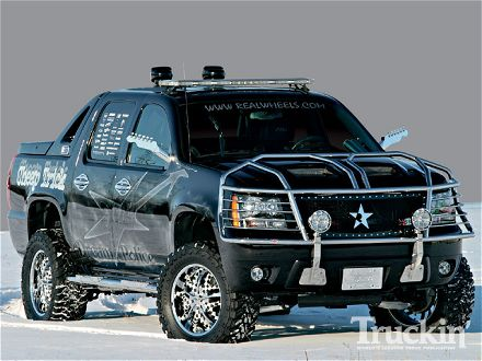 Chevrolet Avalanche: 09 фото